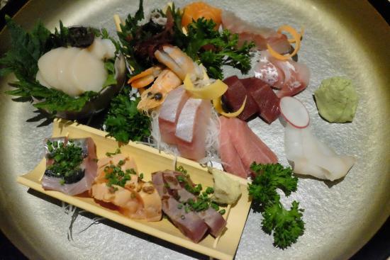 Kamakura : Sashimi platter