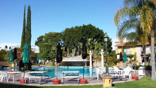Gran Hotel Hacienda De La Noria: Jardines y alberca