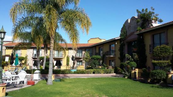 Gran Hotel Hacienda De La Noria: Vista desde la habitacion