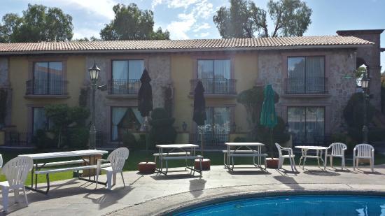 Foto de Gran Hotel Hacienda De La Noria, Aguascalientes: Jardines ...
