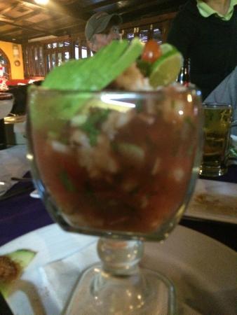 La Vaquita: Baja shrimp cocktail
