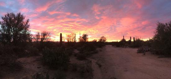 Hacienda Linda: Evening Sunset
