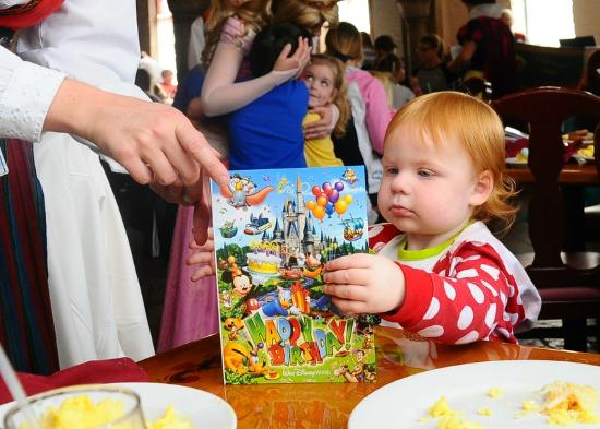 Akershus Royal Banquet Hall My 2 Year Old Receiving Her Birthday Card Signed