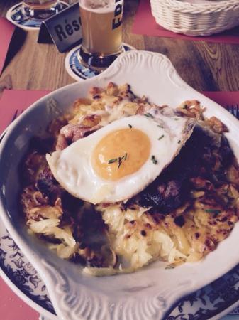 Ski und Berghaus Schwendi: Rösti mit Ei