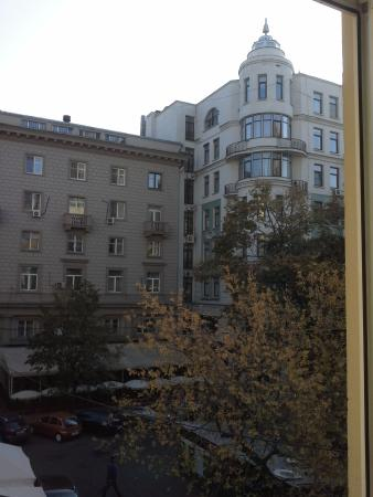 Bulgakov Hostel: вид из окна