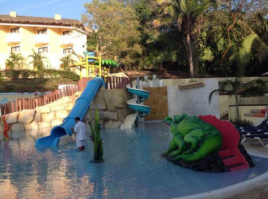 Grand Palladium Vallarta Resort & Spa : water park