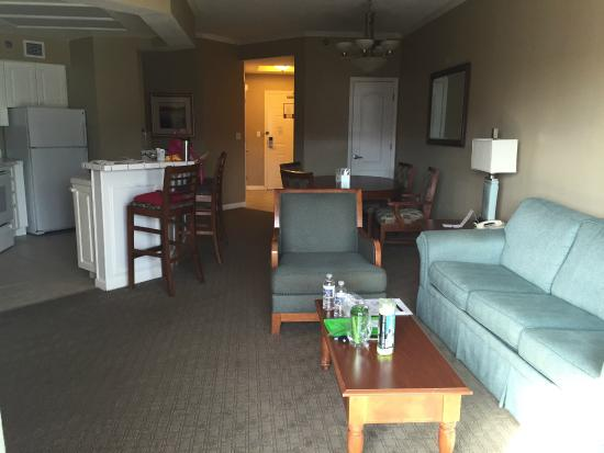 Living Dining Kitchen Area Two Room Suite Picture Of Caribe Royale Orlando Orlando Tripadvisor