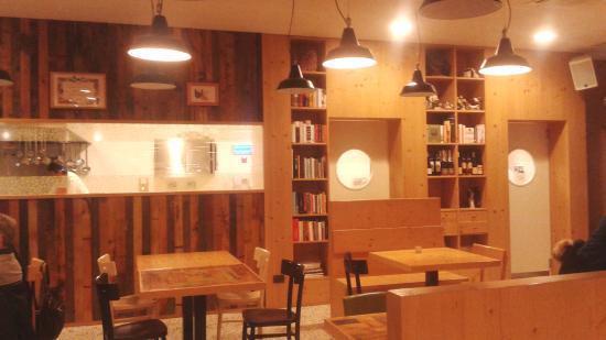 La sala ristorante con cucina a vista foto di per - Sala con cucina a vista ...