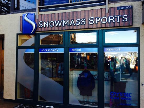 ‪‪Snowmass Village‬, ‪Colorado‬: Snowmass Sports Store Front‬