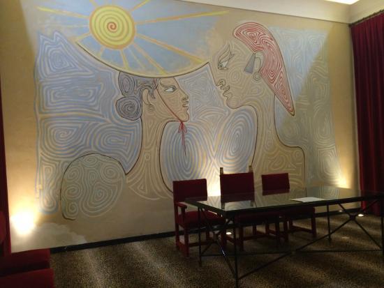 foto de la salle des mariages menton dessin mural tripadvisor. Black Bedroom Furniture Sets. Home Design Ideas