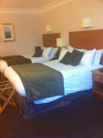Jurys Inn Aberdeen Airport: Plenty sleeping space