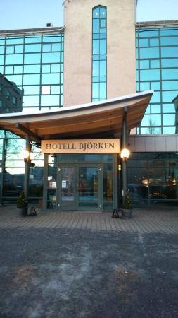 Hotell Bjorken : Entren