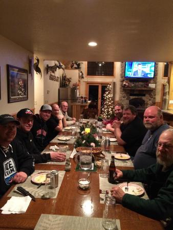 Roslyn, Dakota del Sur: Hidden Hill Lodge dinner