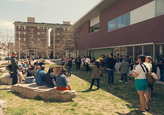Heritage Toronto Tours: Heritage Toronto walking tour: St James Town and the Filipino Community - photo: Olena Sullivan