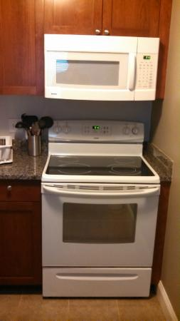 Crescent Suites Hotel: Another picture of the stove in case you forgot.