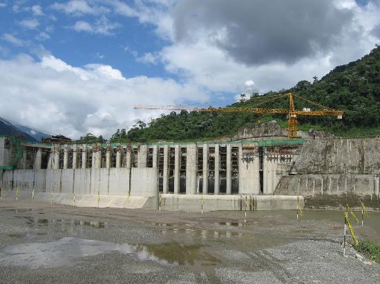 Quijos Dam project threatening the San Rafael Waterfall