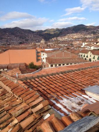 Mamma Cusco Hostel: Vista do terraço