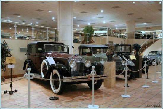 mus e automobile de monte carlo picture of the private collection of antique cars of h s h. Black Bedroom Furniture Sets. Home Design Ideas