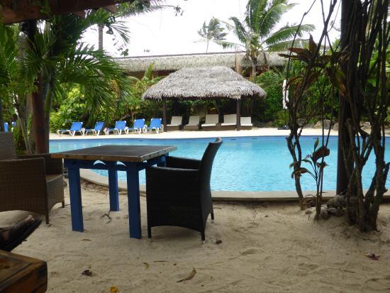 The Rarotongan Beach Resort Lagoonarium Santuary Pool And Area
