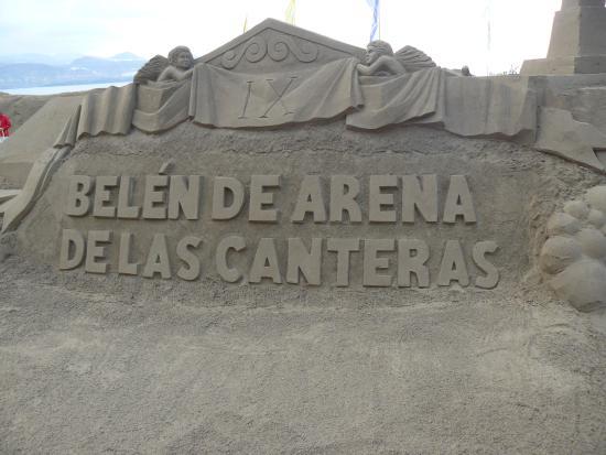 Hotel Alisios Canteras: presepi di sabbia