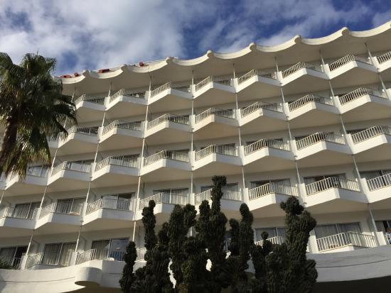 Hotel Riu Festival: Blick von außen