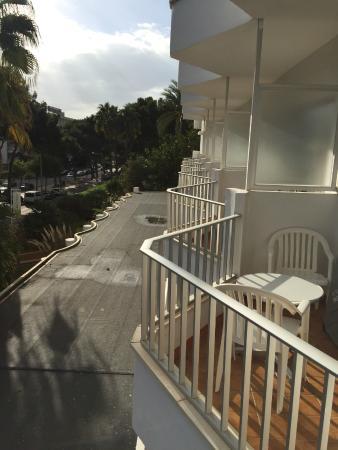 Hotel Riu Festival: Blick vom Balkon