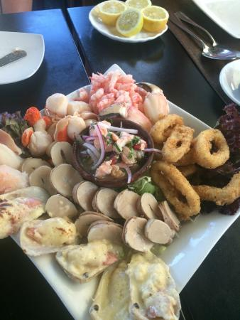 Aqui Jaime Restaurante: Un exquisito plato para compartir.