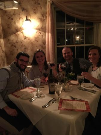 Quechee Inn At Marshland Farm: The dining room