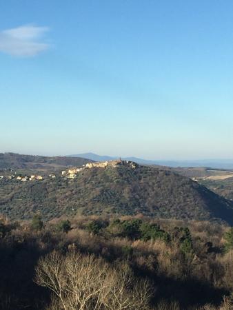 Borgo Tepolini: La vista dalla nostra camera