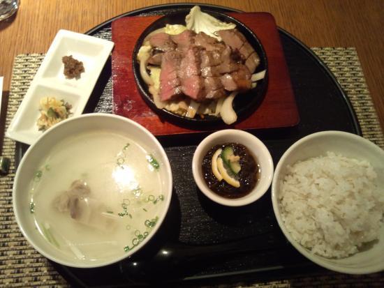 Shima gohan : 牛タン定食