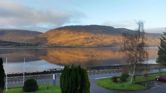 Bay Caledonian Hotel : Loch Linnhe from Bay Caledonian
