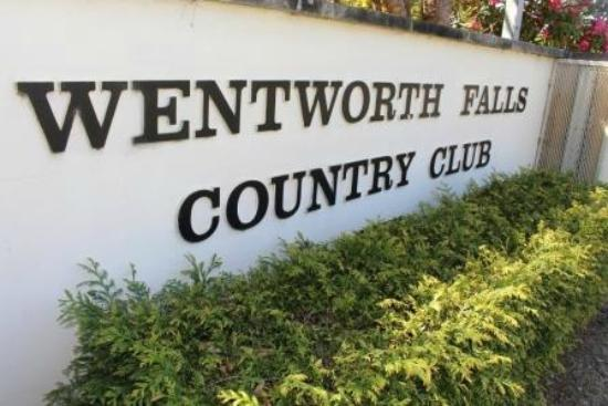 Wentworth Falls Country Club : Entrance