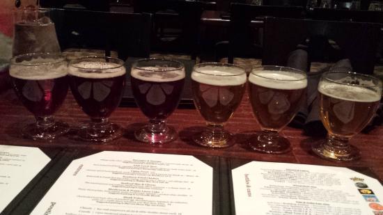 Beer Bros: Two flights of beer!