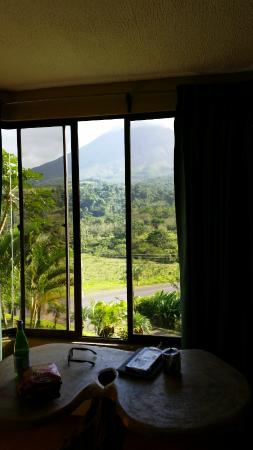 Arenal Palace: View from our room