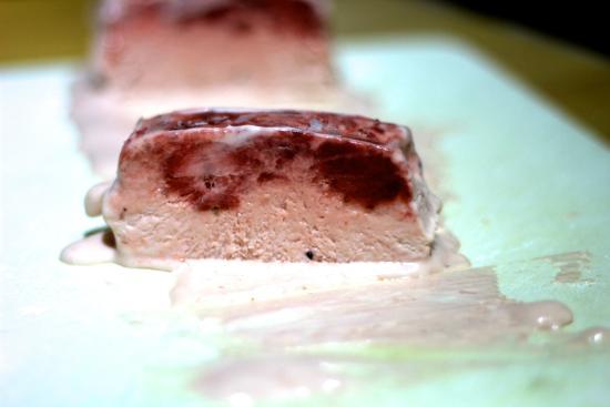 Chalet Les Trois Canards : strawberry parfait