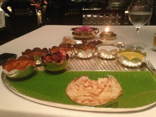Southern Spice: Delectable Thali