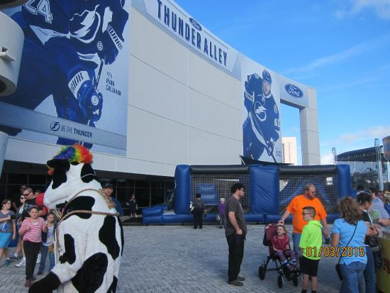 South Regional Garage Picture Of Amalie Arena Tampa
