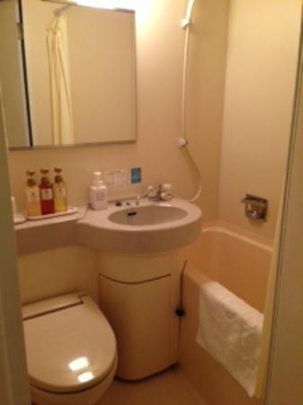 Sanco Inn Nagoya Shinkansenguchi : バスルーム
