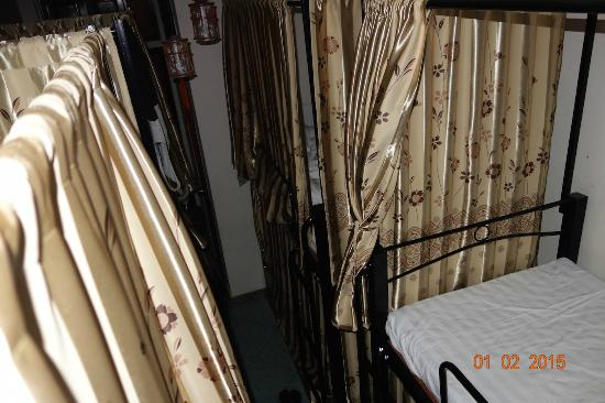 Hanoi Evergreen Hotel: the beds in the room