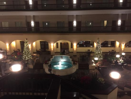 Embassy Suites by Hilton Dallas Love Field: Christmas trees in lounge