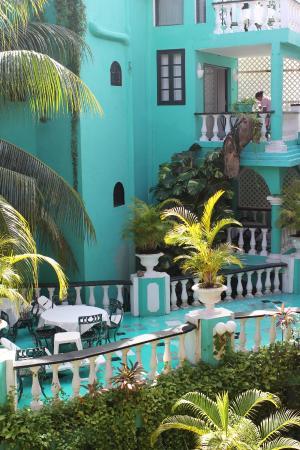 Maya del Mar: Interior del hotel