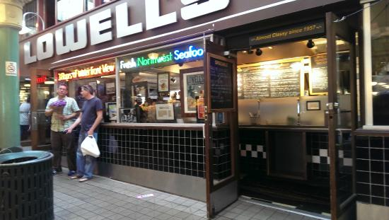 seafood grill picture of lowell 39 s restaurant seattle tripadvisor