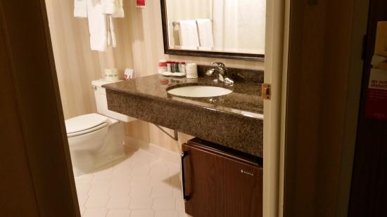 Ramada Plaza Hagerstown: Bathroom view 2