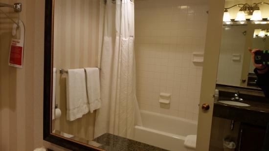 Ramada Plaza Hagerstown : Shower