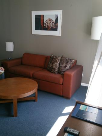 The Sebel Brisbane: Super-comfy lounge