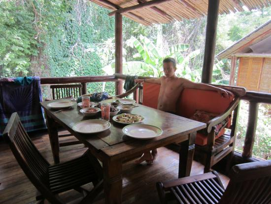 Hotel El Manglar: terrase