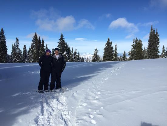 Yampatika : Great snowshoeing ride!