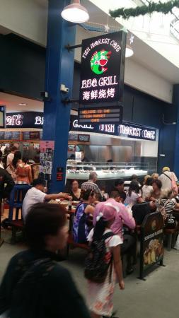 Fish Market Cafe: Bem legal