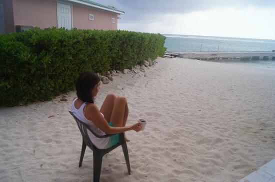 Carib Sands Beach Resort: Right outside of room 112