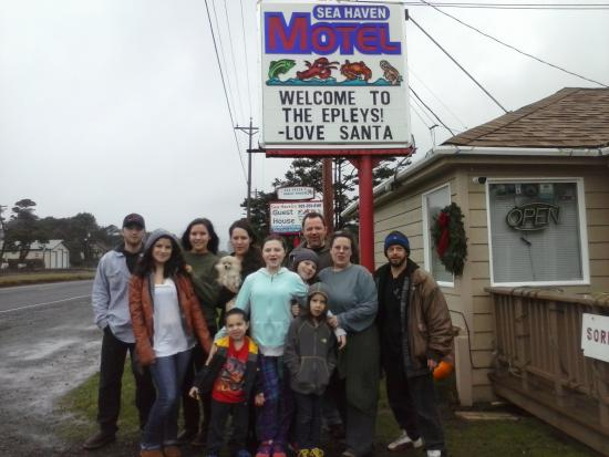 Sea Haven Motel: Our wonderful trip!!